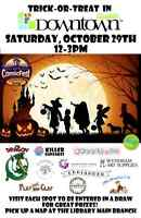 Halloween Treat-Or-Treat Downtown Guelph