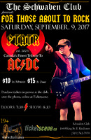 For Those About To Rock Canada's Finest Tribute to ACDC