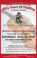 BC Old Time Fiddlers celebrate FIFTY YEARS OF FIDDLING!