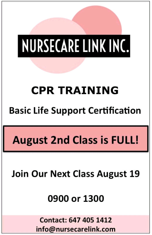 Get Yr Cpr Bls Certificate On 19th Aug 9amampton Classes