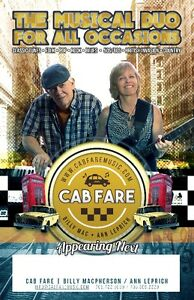 CAB FARE ... a fun & energetic music duo for hire