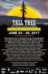 Tall Tree music festival tickets