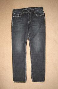 Warehouse One Jeans (Slim Fit) - 34x32, Zip-Off Pants sz L
