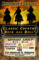 560 Legion Kingston - Live Bands Sat. Mar. 17th 3 PM - 7 PM.