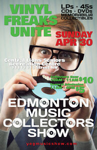 EMCS Tons of Vinyl Records LPs 45s CDs ETC. Sunday April 30