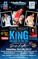 ONE NIGHT WITH THE KING - The Best of the 70's