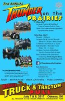 Thunder on the Prairies Tractor Pulls