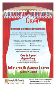 Summer Camps at LONG & MCQUADE! Registration on now!