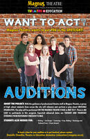 Auditions for High School Students at Magnus Theatre