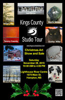 Kings County Studio Tour Christmas Show & Sale