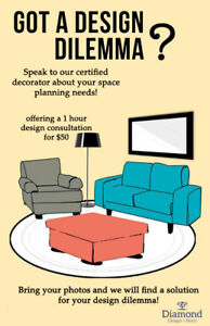 Introductory Offer - Design Consultation $50/1 hr