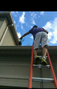 Gutter cleaning downspout repair & installation