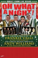 """THE """"OH WHAT A NIGHT!"""" CHRISTMAS SHOW IS COMING!"""