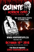 Quinte Horror Expo - Looking for vendors