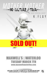 Looks my for 2+ tickets for Mother Mother Maxwells Kitchener / Waterloo Kitchener Area image 1