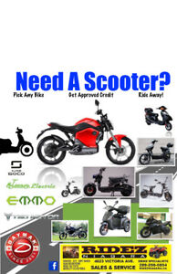 2018 ebike Financing, Any Electric Scooters!