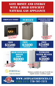 Income Qualified $3000 Rebate For 97% EF Furnace