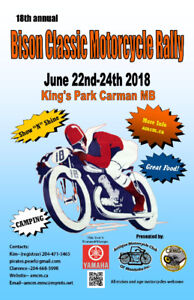 Bison Classic Motorcycle Rally
