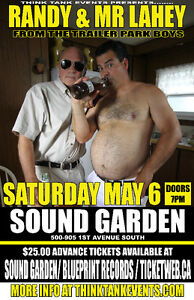 Randy & Mr. Lahey Live at Sound Garden