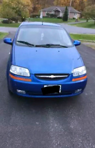 Chevrolet Aveo hatchback  (low kms)