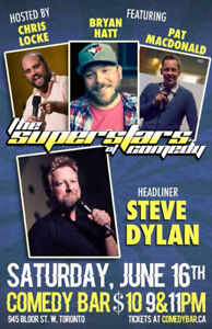 The Superstars of Comedy - Saturday, June 16th