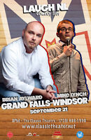 Brian Aylward & Mike Lynch - 'Laugh NL' Comedy Tour