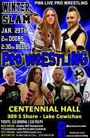 Pro Wrestling coming to Lake Cowichan