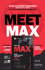 Meet your Max! Healthier Living with Exogenous Ketones by Pruvit