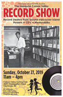 The Inaugural Comox Valley Record Show