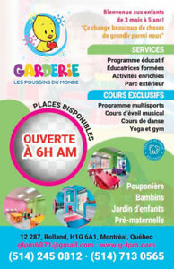 Garderie Educative en installation