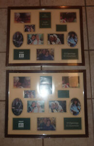 2 NEW collage frames $ 5 each