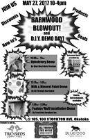 Barnwood Blowout and D.I.Y. Demo Day
