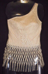 REDUCED--Charlotte Russe Crochet Lace Camisole Top