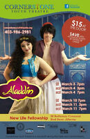 Aladdin the Musical - Cornerstone Youth Theatre Group