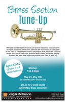 Brass Section Group Music Lessons (Trumpet, Trombone, Baritone)