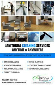 Commercial Cleaning Services Toronto and Janitorial Services