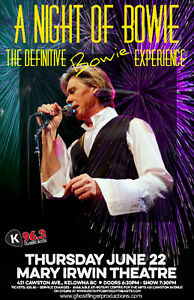 "2 Tickets for ""A Night Of Bowie: The Definite Bowie Experience"""