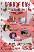 canada day with friends tribute show