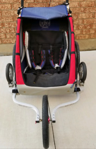 Thule Chariot CX2 double jogging stroller