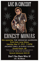 ERNEST MONIAS IN CONCERT!