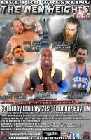 CWE Live In Thunder Bay Ft. Ring Of Honor Star ACH