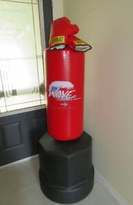 Century Wavemaster Punching Bag with boxing gloves