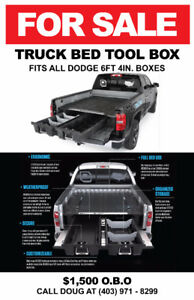 For Sale-  Decked drawer truck tool box