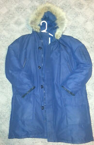 Men's Large Down Winter Jacket