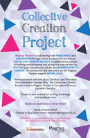 Auditions for Magnus Theatre's Collective Creation Project