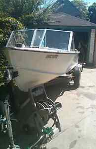 16ft fishing boat for sale with lots of extras