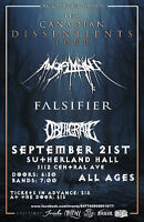 THE THREE HEAVIEST BANDS IN CANADA ARE PLAYING IN SASKATOON