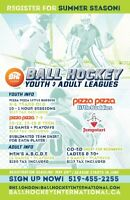 Summer Ball Hockey League