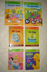 Leap Frog Books:  Tag, Leap Reader Junior, Tag Junior