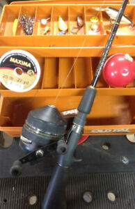 Tackle Box ,Rod and Reel And All Tackle.